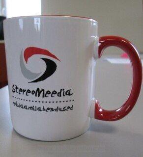 Kahvimuki Logolla