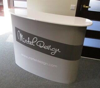 Mainospöytä Mirtel Design