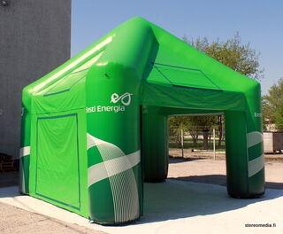 Ilmatäytteinen teltta 4x4m