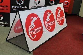 Soft banner 250x100cm Cramer