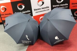 Automatic umbrellas with logo