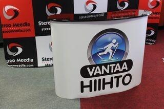 Iso mainospöytä VantaaHiihto