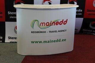 Iso mainospöytä Mainedd