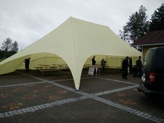 16m double star tent