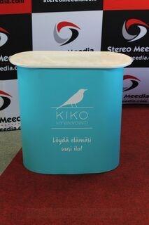 Pieni esittelypöytä Kiko