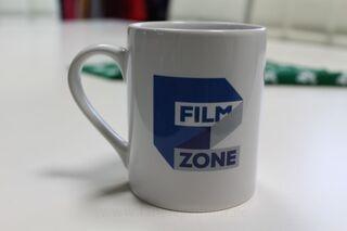 Keraaminen muki logolla FilmZone