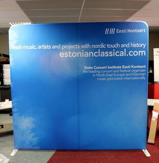 Promotional wall Eesti Kontsert
