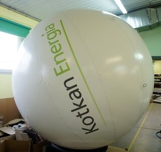 Mainospallo Kotkan Energia 2,5m