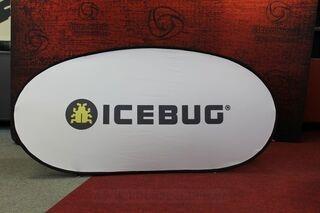 Icebug kangast reklaam 200x100cm
