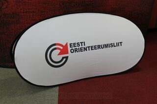 Soft bänner Eesti Oriesteerumisliit 200x100cm