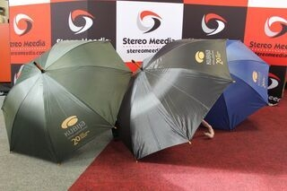Umbrellas with logo
