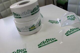Piirdelint logoga- Matkasport