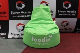 Logoga kott-tool Foodin