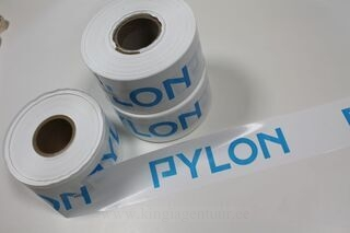 Warning foil with logo Pylon