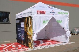 3x3m advertising tent