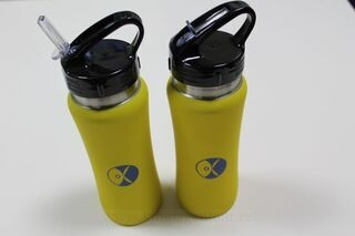 Drinking bottle with logo