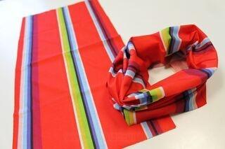 Multifunctional bandana with print