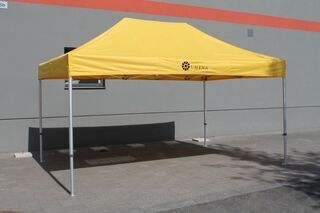 3x4,5m pop up tent with logo