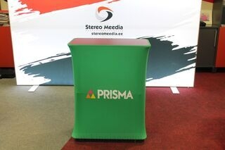 Prisma advertising table