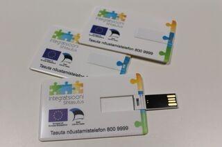 Custom printed usb memory card