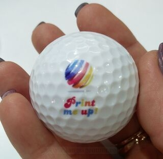 Golfipall trükiga