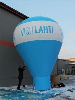 Visit Lahti reklaampall 6m
