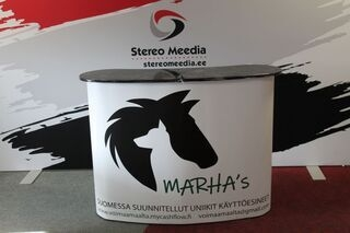 Marha´s advertising table