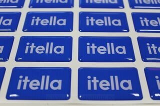 Itella reklaamkleebised