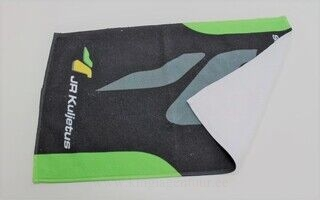Ettevõtte logoga rätik 30x50cm