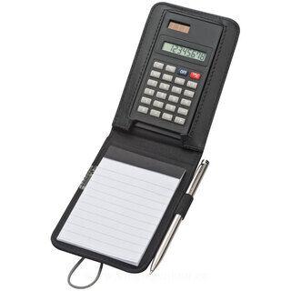 Kalkulaator koos märkmikuga