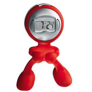 Bendable clock man