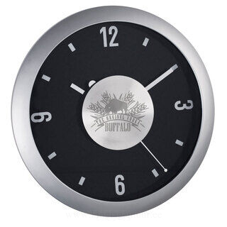 Plastic quartz wall clock