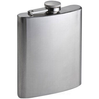 Stainless metal hip flask