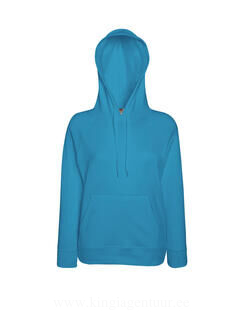 Lady-Fit Lightweight Hooded Sweat