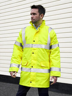 Core High Viz Motorway Coat