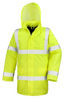 Core High Viz Motorway Coat 3. pilt