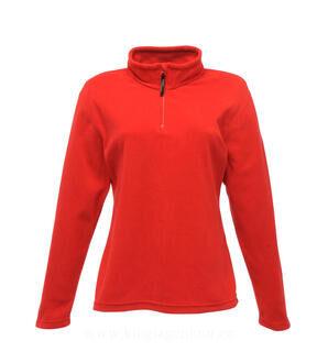 Ladies` Micro Zip Neck Fleece