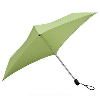All Square® completely square folding umbrella