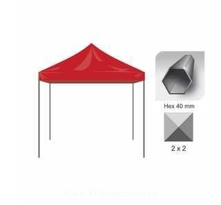 Pop Up telk 2x2m Hex40