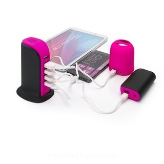 LAADIMISJAAM POWER TOWER, 5 USB