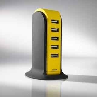 LAADIMISJAAM POWER TOWER, 5 USB 19. pilt