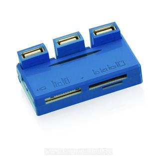 Kaardilugeja USB HUB Tisco 4. pilt